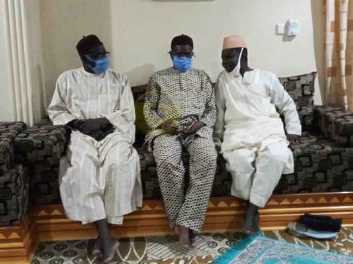 Présentation de condoléances de Serigne Bass Abdou Khadre au nom du Khalife général des Mourides