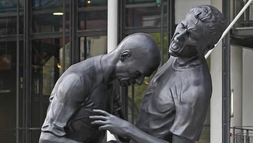 Le coup de boule de Zidane devient une oeuvre d'art