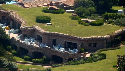 La villa de Berlusconi en vente à 450 millions d'euros