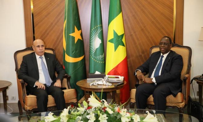 Réouverture des frontières: Macky et Ghazouani échangent sur l'intérêt commun