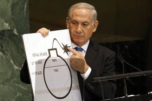 Nétanyahou: «L'Iran aura la bombe l'été prochain»