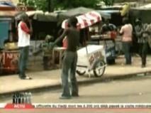 Bagarre entre Mbaye Ndiaye et un marchand ambulant sur l'avenue Bourguiba.