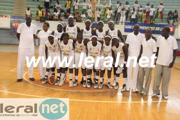 """Les """"Lioncelles"""" championnes d'Afrique de basket"""