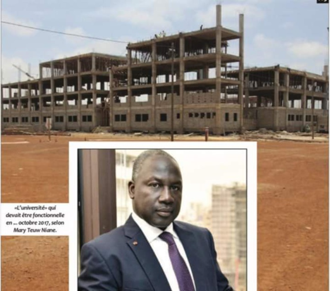 Université de Diamniadio : Adama Bictogo « roule » l'état du Sénégal dans la farine