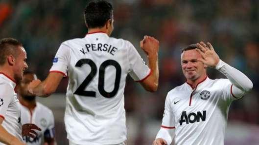 MU : Ferguson s'enflamme pour sa doublette Rooney-Van Persie