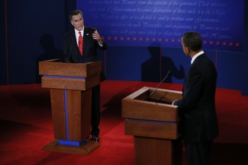 Romney domine Obama lors du premier débat