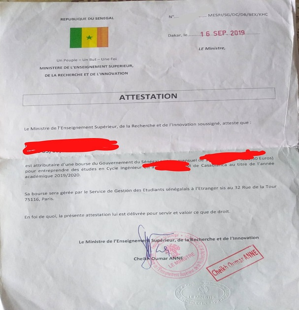 Cri de détresse des étudiants boursiers sénégalais au Maroc : les nouveaux venus renvoyés de leurs établissements pour des mois impayés