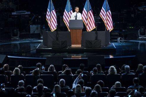 Barack Obama ironise sur son débat raté
