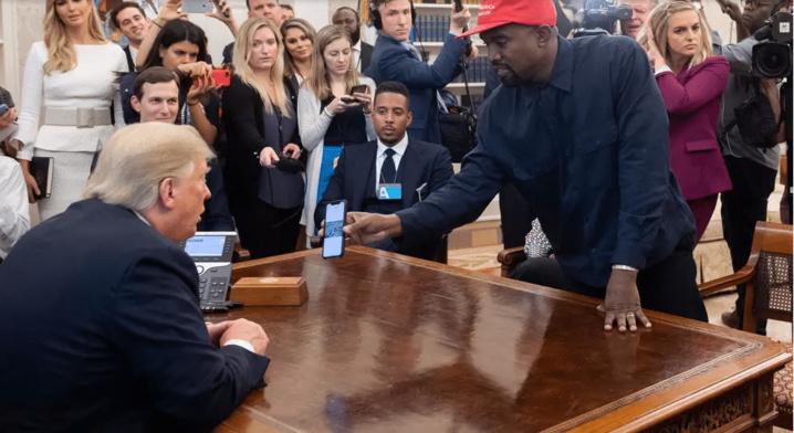 Kanye West candidat à la Maison Blanche ? Donald Trump trouve l'idée « très intéressante »