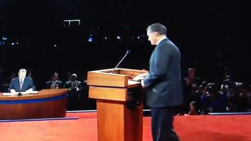 Mitt Romney a-t-il triché lors du débat?