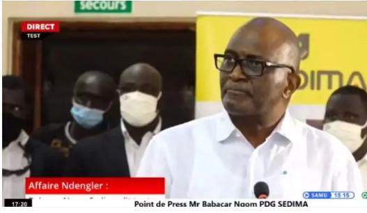 Babacar Ngom, patron de Sedima: « La politique ne m'intéresse pas »