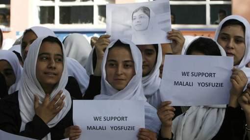 Prières dans les écoles pour Malala, victime des talibans