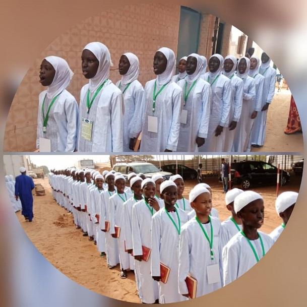 Culture-Religion : 118 filles et garçons de l'Institut Ahmed Sakhir Lo honorés pour avoir mémorisé le Saint Coran