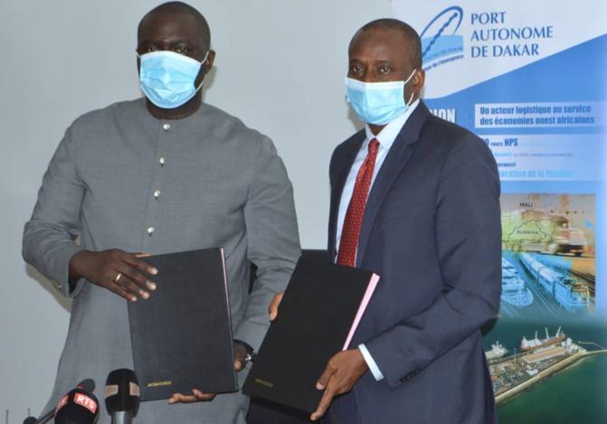 Programme « Sénégal zéro déchet »: Le ministère de l'Urbanisme, du Logement et de l'Hygiène publique et la fondation du Port signent une convention de partenariat