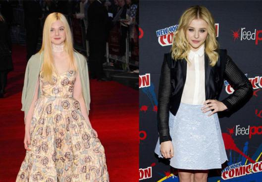 Deux looks deux stars: Chloe Moretz VS Elle Fanning