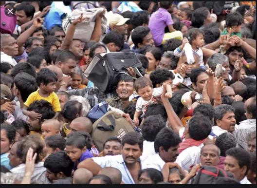 8,8 milliards d'humains attendus en 2100, 2 milliards de moins qu'estimé par l'ONU
