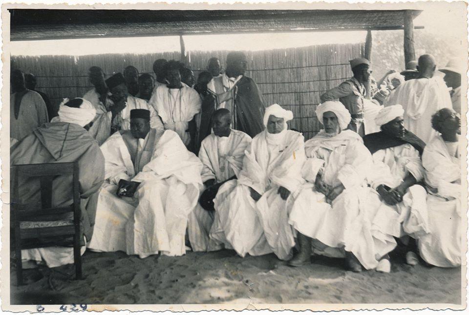 Cheikh Gaïndé Fatma (suite) : voici une autre photo de Serigne Cheikh Ahmadou Mbacké