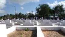 Des tombes du cimetière Saint-Lazare de nouveau profanées