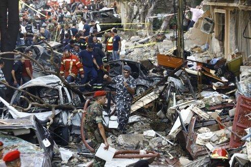 Beyrouth frappée par un attentat à la voiture piégée