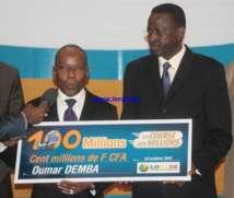 [Photos] Oumar Demba décroche le Jackpot de la Lonase