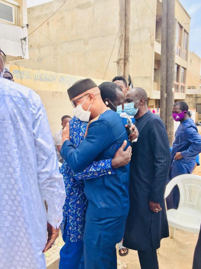 Condoléances - Matar Bâ, Cheikh Seck en compagnie d'El Hadji Diouf chez Moussa Ndiaye