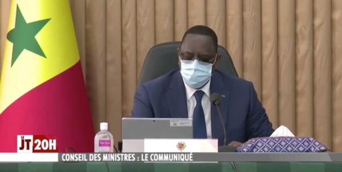 Covid 19 : Macky Sall insiste sur le port de masque et menace…