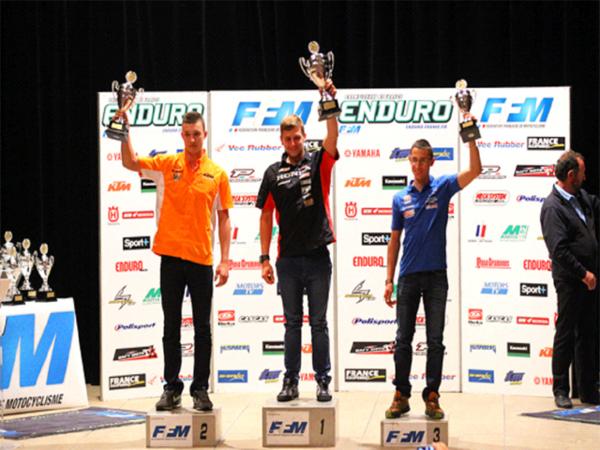 Moto : Ludovic Rahal sur la plus haute marche du podium