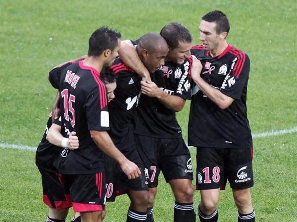 Les frères Ayew offrent 3 points à l'OM sur la pelouse d'Ajaccio