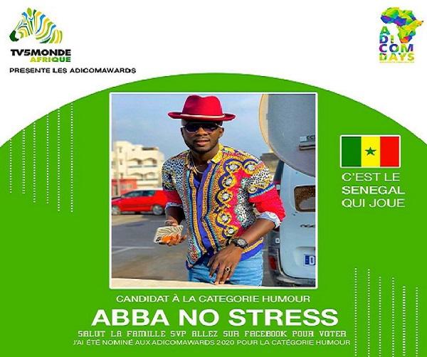 Adicom Days - Africa Digital Communication: Abba No Stress parmi les acteurs francophones nominés de cette édition 2020