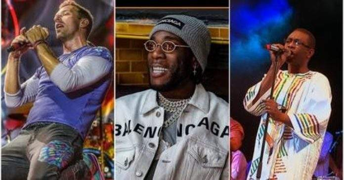 Youssou Ndour, Puff Diddy et Chris Martin figureront dans l'album «Twice As Tall» de Burna Boy