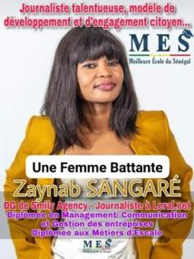 PORTRAIT D'UNE FEMME BATTANTE: Zaynab Sangaré, DG de Smily Agency, passionnée de nouvelles découvertes, de créativité et d'innovation