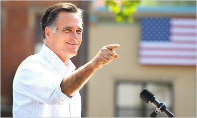 USA: Mitt Romney a voté