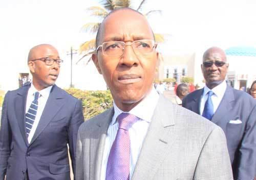 Abdoul Mbaye reçoit les mises au point de Touba