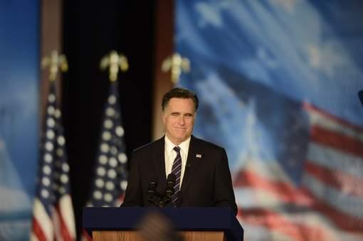 """Mitt Romney : """"J'ai appelé le président Obama pour le féliciter"""""""