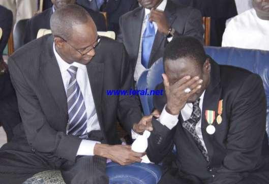 Passation de service au minist re de l 39 int rieur mbaye for Adresse ministere de l interieur