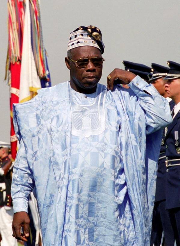 Olusegun Obasanjo en visite privée à Médina Baye Niass