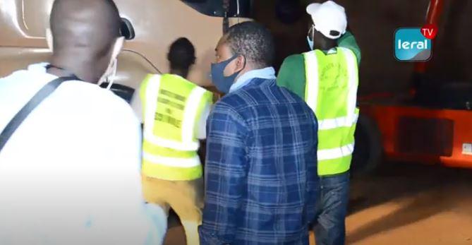 VIDEO - Désengorgement de certains quartiers de Dakar: Oumar Bâ, Directeur du Cadre de vie et de l'Hygiène publique, en pleine action