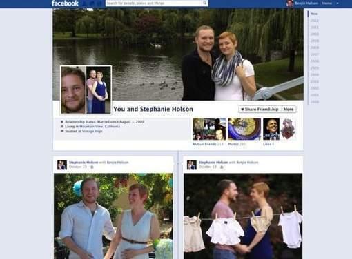 """La """"page commune"""" Facebook pour les couples"""