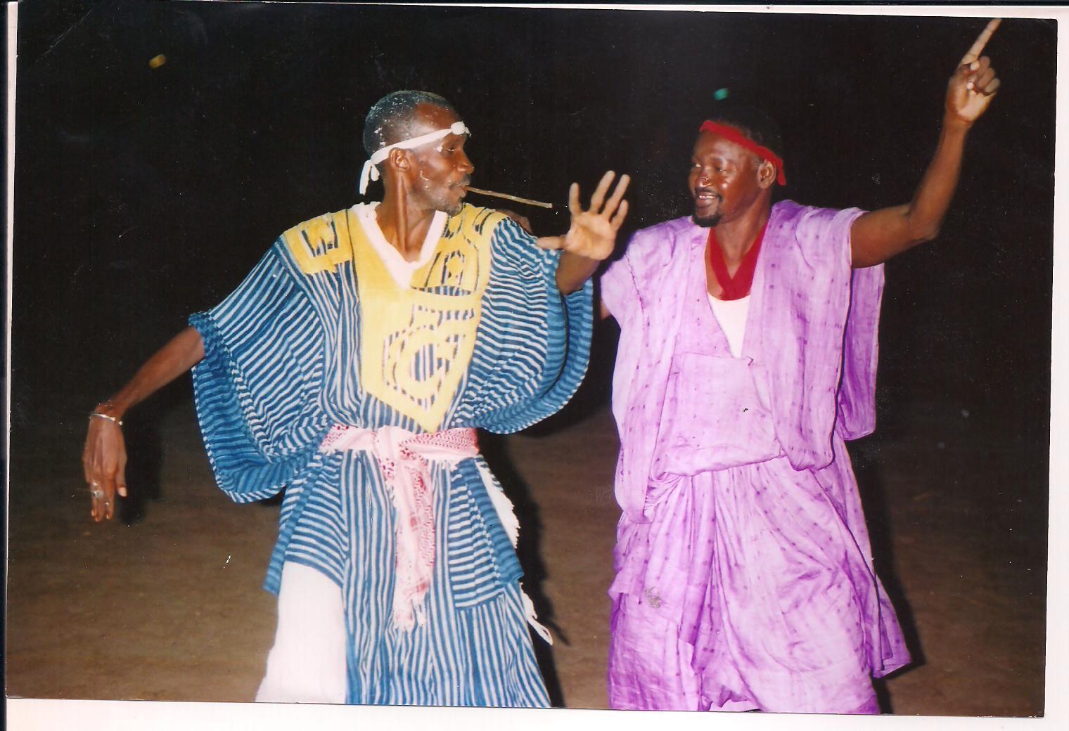 Gala de lutte traditionnelle Pulaar: Lamarane Diallo, le champion de Labbé terrasse Haadii Gadio, le champion de Matam