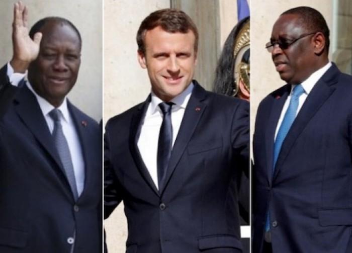 Voyage: Macky Sall et Allassane Ouattara attendus à l'Elysée