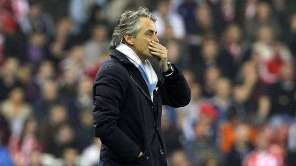 Man City : Mancini tacle sévèrement Balotelli et Hart