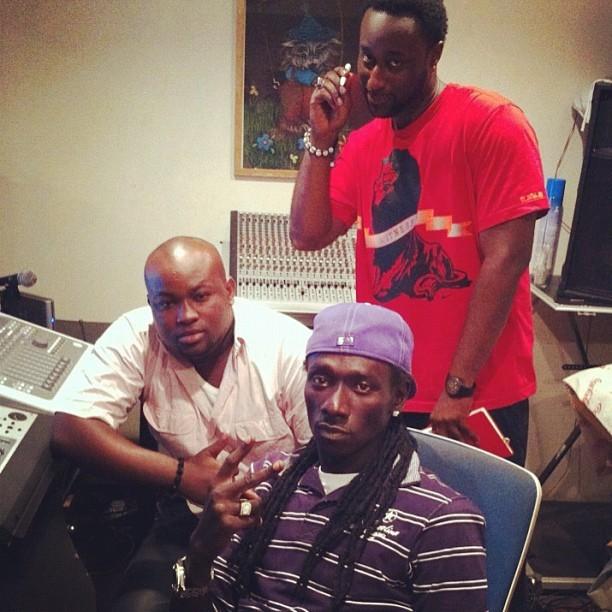 Duggy Tee et Keithzy en studio pour un featuring