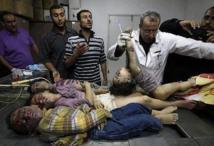 Crimes contre l'humanité dans la Bande de Gaza