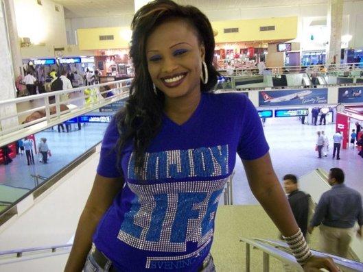 Mbathio, patronne: Son business marche bien