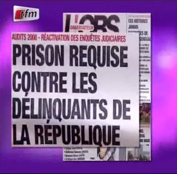 Revue de Presse du mardi 20 Novembre 2012 (Lamine Samba)