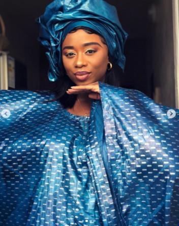 Admirez le magnifique grand boubou de la chanteuse Omg ! (Photos)