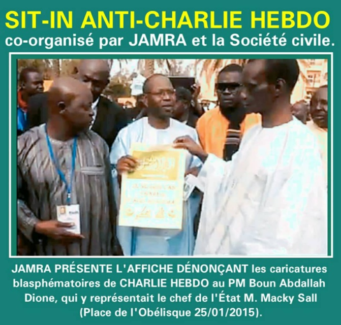 Jamra condamne le terrorisme blasphématoire de