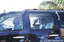 [Urgent] Karim Wade arrive à la Section de recherches tout sourire