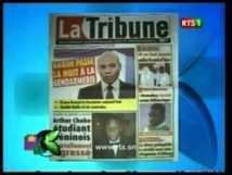 Kenkeliba: Revue de presse du vendredi 23 Novembre 2012 [RTS1]
