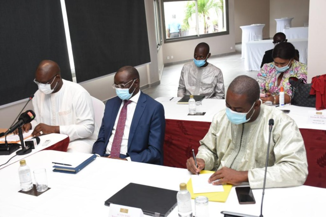 Atelier de renforcement de capacités des présidents de conseil départemental et AG de l'Association des Départements du Sénégal (ADS) sous la présence du Ministre Oumar GUEYE